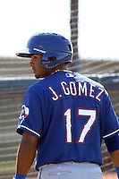 Jhonny Gomez, Texas Rangers minor league spring training..Photo by:  Bill Mitchell/Four Seam Images.