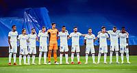 12th September 2021; Estadio Santiago Bernabeu, Madrid, Spain; La Liga, Real Madrid CF versus RC Celta de Vigo; Real Madrid team before the match