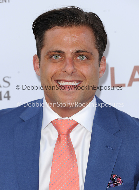 """Joseph Russo attends The Los Angeles Film Festival 2014 Closing Night Premiere of Warner bros. Pictures """"Jersey Boys"""" held at The Regal Cinemas L.A. Live in Los Angeles, California on June 19,2014                                                                               © 2014 Hollywood Press Agency"""