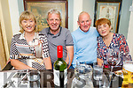 Bridget and Gerard O'Connor, James and Mary Fealy enjoying the evening in the Brogue Inn  on Saturday.