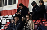 Bolton Wanderers' chairman Sharon Brittan in the visiting director's box <br /> <br /> Photographer Andrew Kearns/CameraSport<br /> <br /> The EFL Sky Bet League Two - Stevenage v Bolton Wanderers - Saturday 21st November 2020 - Lamex Stadium - Stevenage<br /> <br /> World Copyright © 2020 CameraSport. All rights reserved. 43 Linden Ave. Countesthorpe. Leicester. England. LE8 5PG - Tel: +44 (0) 116 277 4147 - admin@camerasport.com - www.camerasport.com