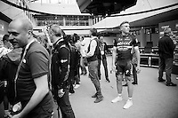 Marcel Kittel (DEU/Etixx-Quickstep) at the Grande Partenza in Apeldoorn (NLD): team presentation of the 99th Giro d'Italia 2016 on the evening before the 1st stage