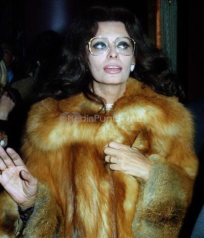Sophia Loren 1978<br /> John Barrett/PHOTOlink.net /MediaPunch