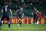 SC Kitchee Defender Krisztin Vadocz (c) in action during the 2017 Lunar New Year Cup match between SC Kitchee (HKG) vs Muangthong United (THA) on January 28, 2017 in Hong Kong, Hong Kong. Photo by Marcio Rodrigo Machado/Power Sport Images