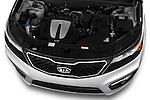 High angle engine detail of a  .2013 KIA Sorento SX