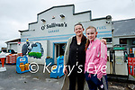 Sinead and Madison O'Connor at O'Sullivan's garage, Lerrig on Tuesday.