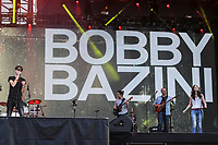 Bobby Bazini performs at the Festival d'ete de Quebec (Quebec City Summer Festival) Friday July 10, 2015.