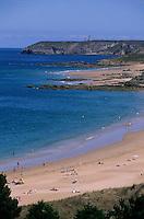 Europe/France/Bretagne/22/Côtes d'Armor/Sable-d'Or-Les-Pins: La lagune et le Cap Fréhel