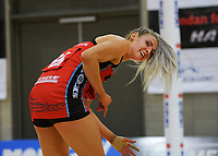 Tactix captain Jane Watson during the ANZ Premiership netball match between Central Pulse and Mainland Tactix at Te Rauparaha Arena in Wellington, New Zealand on Friday, 9 July 2021. Photo: Dave Lintott / lintottphoto.co.nz