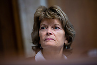 United States Senator Lisa Murkowski (Republican of Alaska) attends the nomination hearing of Katharine MacGregor, nominated to be Deputy Secretary of the Interior, and James P. Danly, nominated to be a Member of the Federal Energy Regulatory Commission, before the U.S. Senate Committee on Energy and Natural Resources on Capitol Hill in Washington D.C., U.S., on Tuesday, November 5, 2019.<br />  <br /> Credit: Stefani Reynolds / CNP /MediaPunch