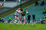 Paudie Clifford, Kerry in action against Shane Walsh, Galway during the Allianz Football League Division 1 South Round 1 match between Kerry and Galway at Austin Stack Park in Tralee.