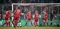 20.02.2018, Allianz Arena, Muenchen, GER, UEFA CL, FC Bayern Muenchen (GER) vs Besiktas Istanbul (TR) , <br />Thomas Mueller (Muenchen) goal  1:0<br /><br /><br /><br /> *** Local Caption *** © pixathlon<br /> Contact: +49-40-22 63 02 60 , info@pixathlon.de