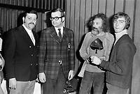 Georges Moustaki<br /> , Vers 1970<br /> <br /> Photographe : Jacques Thibault<br /> - Agence Quebec Presse