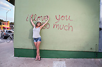 """The """"I love you so much"""" mural on South Congress (Soco) is a symbol of Austin's sense of community."""