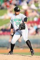 May 29, 2010: Erasmo Ramirez (50) of the Clinton LumberKings at Elfstrom Stadium in Geneva, IL. The LumberKings are the Midwest League Class A affiliate of the Seattle Mariners. Photo by: Chris Proctor/Four Seam Images