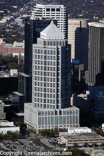aerial photograph Sun Trust Financial Centre Tampa, Florida