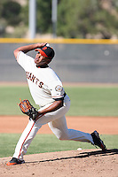 Edward Concepcion - San Francisco Giants 2009 Instructional League .Photo by:  Bill Mitchell/Four Seam Images..