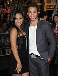 Francia Raisa and Corbin Bleu at Walt Disney Pictures Premiere of Pirates of the Caribbean : On Stranger Tides held at Disneyland in Anaheim, California on May 07,2011                                                                               © 2010 Hollywood Press Agency