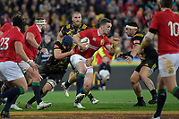 Lions' George North in action during the New Zealand Lions Series - Hurricanes v British and Irish Lions at Westpac Stadium, Wellington, New Zealand on Tuesday 27 June 2017.<br /> Photo by Masanori Udagawa<br /> www.photowellington.photoshelter.com.