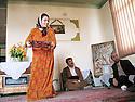 Iran 2004 Chez un député kurde de Sanandaj: Amin Chabani.<br /> Iran 2004 Amin Shabani, Kurdish MP at home in Sanandaj