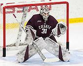 Zac Hamilton (Colgate - 31) - The visiting Colgate University Raiders shut out the Harvard University Crimson for a 2-0 win on Saturday, January 27, 2018, at Bright-Landry Hockey Center in Boston, Massachusetts.