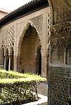 El Alcazar in Seville, Spain.