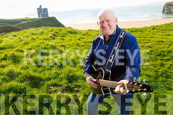 """Ger Walsh from Ballybunion launches his new song """"The Lockdown Song"""" on Thursday in Ballybunion."""