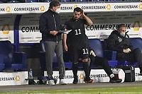 Amin Younes (Deutschland Germany) wird eingewechselt - 25.03.2021: WM-Qualifikationsspiel Deutschland gegen Island, Schauinsland Arena Duisburg