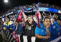 San Jose, Ca - Friday March 24, 2017: USA Fan during the USA Men's National Team defeat of Honduras 6-0 during their 2018 FIFA World Cup Qualifying Hexagonal match at Avaya Stadium.