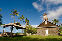 Kalaealaíi Congregational Church, Makena, Maui, Hawaii, USA