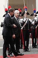 20121113 ROMA-ESTERI: MONTI RICEVE CAMERON A PALAZZO CHIGI