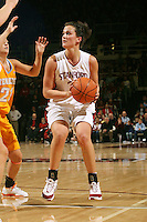 4 December 2005: Jillian Harmon during Stanford's 74-67 loss to Tennessee at Maples Pavilion in Stanford, CA
