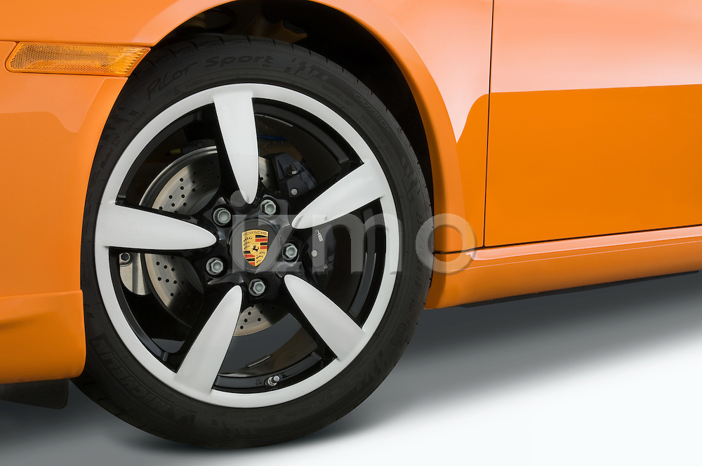 Wheel detail view of a 2008 Porsche Boxster LE