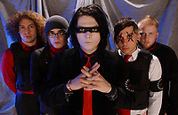 021905_LM_MSFL_EXCLUSIVE COVERAGE<br /> <br /> POMPANO BEACH, FL; FEBRUARY 19, 2005,;  My Chemical Romance photo session shot on the Chaos tour 2005 February 19, 2005, at the Pompano Beach Theater in Pompano Beach, Florida. (Photo by Storms Media Group)<br /> <br /> People; My Chemical Romance<br /> <br /> Must call if interested <br /> Michael Storms<br /> Storms Media Group Inc.<br /> 305-632-3400 - Cell<br /> 305-531-6834 - Office<br /> 305-534-2301 - Fax<br /> MikeStorm@aol.com<br /> StormsMediaGroup.com