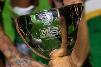 LAKE BUENA VISTA, FL - AUGUST 11: MLS is Back Trophy after a game between Orlando City SC and Portland Timbers at ESPN Wide World of Sports on August 11, 2020 in Lake Buena Vista, Florida.