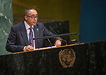 GA 72<br /> High-level meeting of the General Assembly on the appraisal of the United Nations Global Plan of Action to Combat Trafficking in Persons<br /> 25th plenary meeting<br /> <br /> CABOVERDE