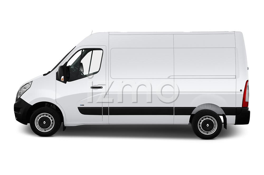 Car driver side profile view of a 2019 Renault Master-Z.E. Base 4 Door Cargo Van