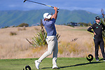 Mike Hendry tees off at the 18th. Day four of the Renaissance Brewing NZ Stroke Play Championship at Paraparaumu Beach Golf Club in Paraparaumu, New Zealand on Sunday, 21 March 2021. Photo: Dave Lintott / lintottphoto.co.nz