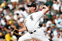 Chicago White Sox relief pitcher Matt Thornton #37 delivers a pitch during a game against the Kansas City Royals at U.S. Cellular Field on August 14, 2011 in Chicago, Illinois.  Chicago defeated Kansas City 6-2.  (Mike Janes/Four Seam Images)f