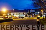 UHK Universal Hospital Kerry ay night.