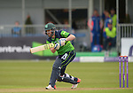 Andrew Balbairne batting for Ireland at the Ireland v England One Day Cricket International held at Malahide Cricket Club, Dublin, Ireland. 8th May 2015.<br /> Photo: Joe Curtis/www.newsfile.ie