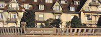 Europe/France/Normandie/Basse-Normandie/14/Calvados/Façade l'hôtel Normandy Barrière côté front de mer