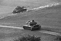 - NATO exercises in Germany, US Army M 60 tanks (October 1983)....- esercitazioni NATO in Germania, carri armati  M 60  dell'U.S.Army (ottobre 1983)