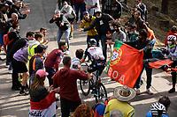 29th May 2021;  Giro D italia stage 20 Valle Spluga to Alpe Motta; Bikeexchange Jensen, Christopher Juul arrives in  Alpe Motta