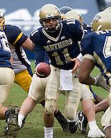 30 September 2006: Pitt quarterback Bill Stull..The Pitt Panthers defeated the Toledo Rockets 45-3 on September 30, 2006 at Heinz Field, Pittsburgh, Pennsylvania.