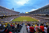 Chicago, IL - Wednesday June 22, 2016: Soldier Field during a Copa America Centenario semifinal match between Colombia (COL) and Chile (CHI) at Soldier Field.