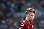 GUANGZHOU, GUANGDONG - JULY 26:  Mitchell Weiser of Bayern Munich looks on during a friendly match against VfL Wolfsburg as part of the Audi Football Summit 2012 on July 26, 2012 at the Guangdong Olympic Sports Center in Guangzhou, China. Photo by Victor Fraile / The Power of Sport Images