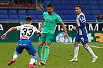 28th June 2020; RCDE Stadium, Barcelona, Catalonia, Spain; La Liga Football, Real Club Deportiu Espanyol de Barcelona versus Real Madrid; Picture show Casemiro