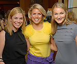 Molly Johnson, Amy Lee and Jennifer Cope at the Children's Assessment Center luncheon at the InterContinental Hotel Thursday April 16,2009.(Dave Rossman/For the Chronicle)