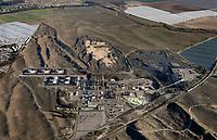 aerial photograph of the Phillips 66 Santa Maria Refinery, Arroyo Grande, San Luis Obispo County, California
